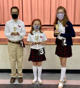 Lower School Speech Contest Winners