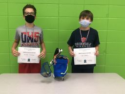 Lower School Droid Contest Winners