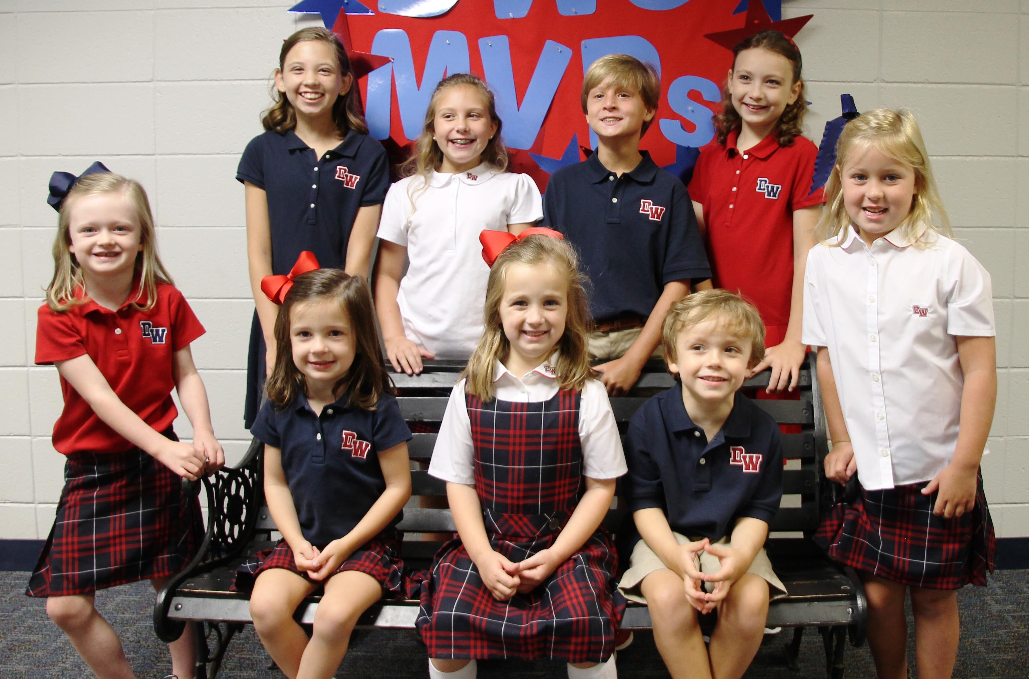 Lands End School Uniform Girls Uniform Solid Jumper