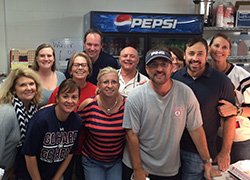Volunteers in Concession Stand